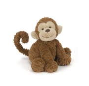Jellycat Knuffel Aap Fuddlewuddle Monkey