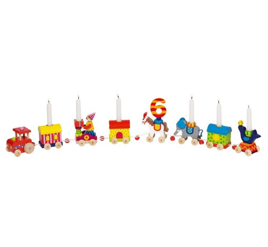 Verjaardagstrein Circus