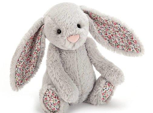 Jellycat Knuffel Konijn Blossom Silver Bunny