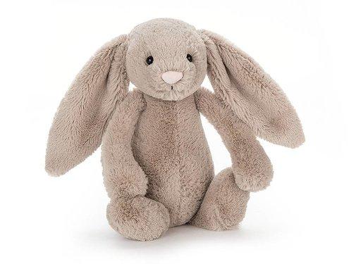 Jellycat Knuffel Konijn Bashful Beige Bunny Chime
