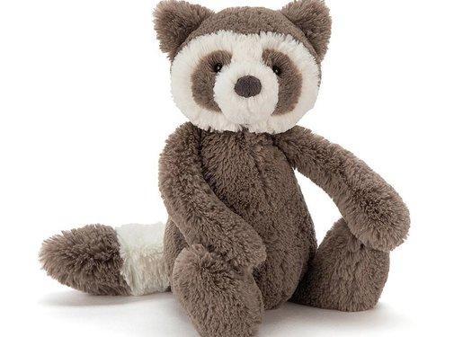 Jellycat Knuffel Wasbeer Bashful Raccoon