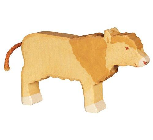 Holztiger Koe Rund Galloway 80558