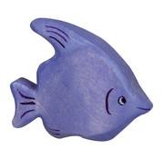 Holztiger Vis Tropisch Blauw 80202