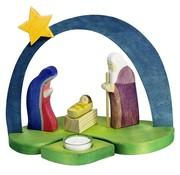 Ostheimer Manger Nativity Scene 9-pcs 5530280