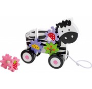 Small Foot Trekwagen Zebra Hout