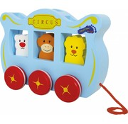 Small Foot Trekwagen Circus Hout