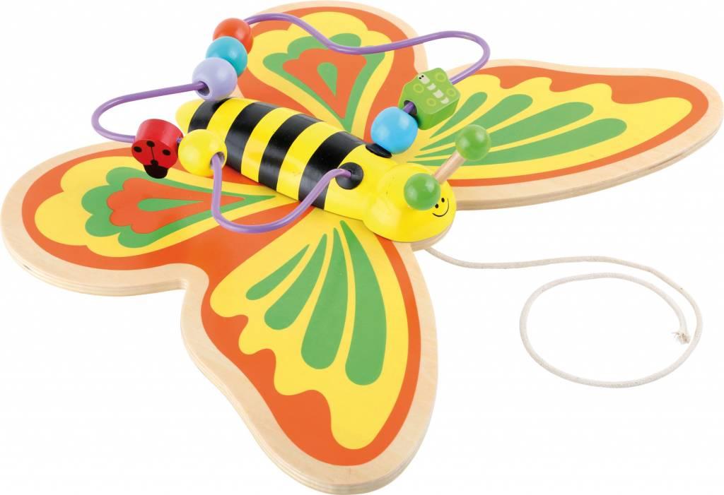 Trekfiguur Motoriek Vlinder Hout Houtendiershopcom