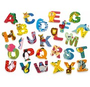 Small Foot Letter Animals Wood
