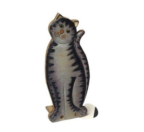 Small Foot Deurstopper Kat Hout