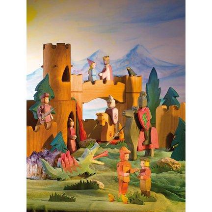 Sprookjes ridders en kastelen