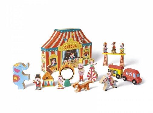 Janod Janod Circus Story Box