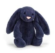 Jellycat Knuffel Konijn Bashful Navy Bunny