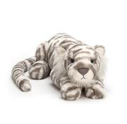 Jellycat Knuffel Tijger Sacha Snow