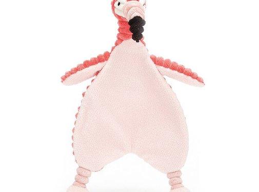 Jellycat Knuffeldoek Cordy Roy Baby Flamingo