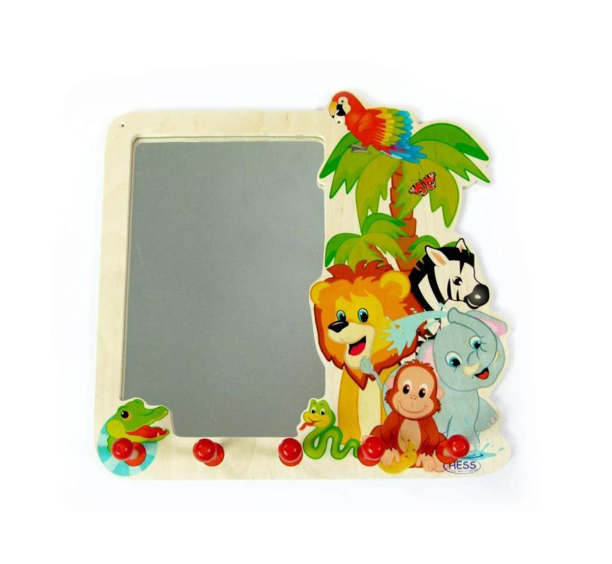 Spiegel en Kapstok Jungledieren