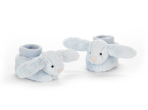 Jellycat Slofjes Bashful Blue Bunny Booties