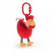 Jellycat Bibber Knuffel Charlie Chicken Jitter