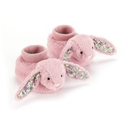 Jellycat Slofjes Blossom Tulip Bunny Booties