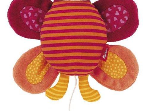 sigikid Mini-Knuffelmuziekje Vlinder