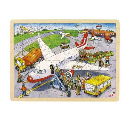 GOKI Puzzel Luchthaven 96 pcs