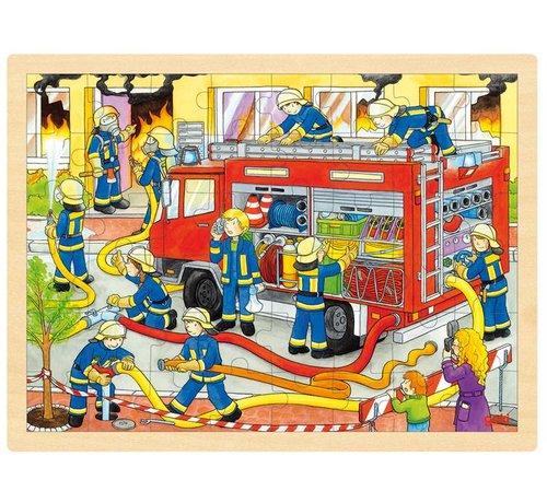 GOKI Puzzel Brandweer