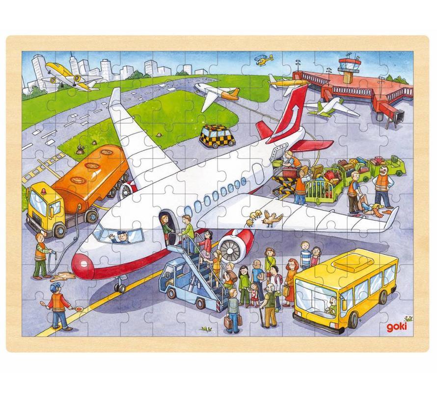 Puzzel Luchthaven
