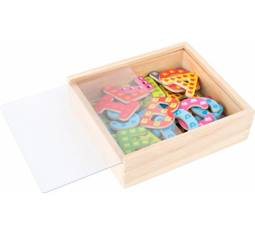 Small Foot Magneetletters Hout