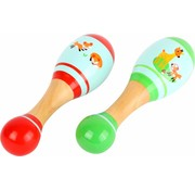 Small Foot Maracas Vos Hout