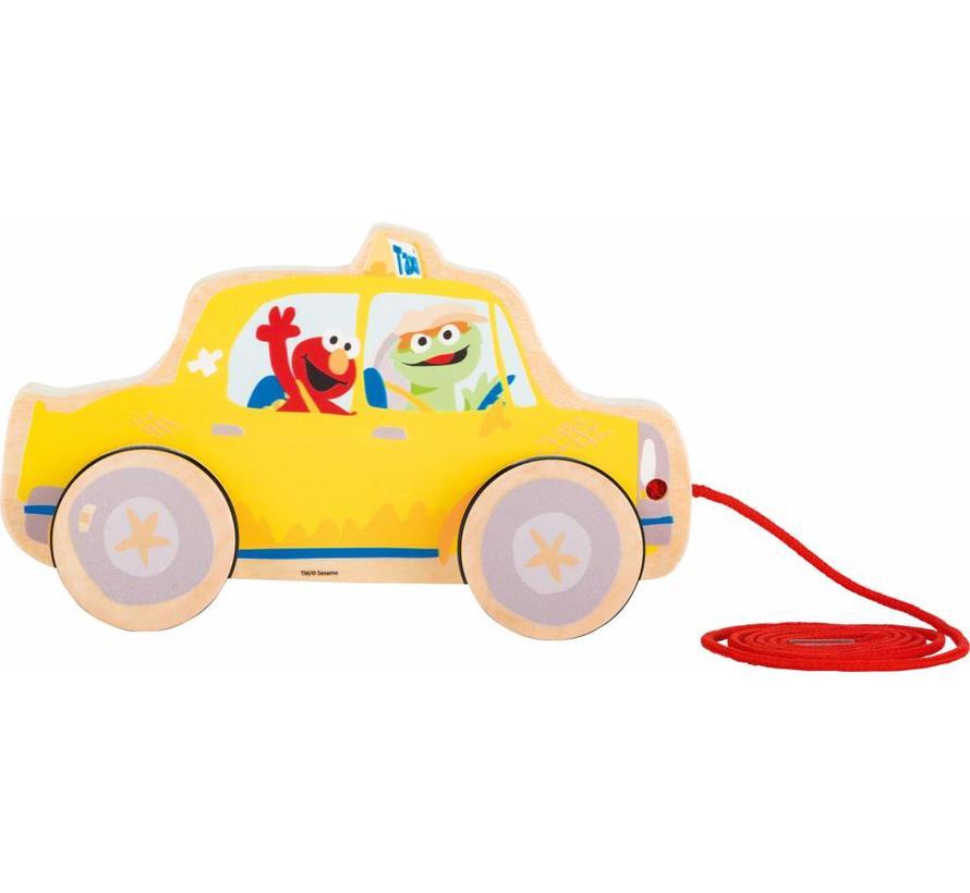 Trekfiguur Taxi Sesamstraat
