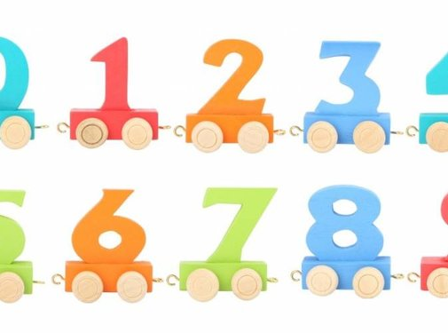 Small Foot Letter Train Numbers