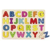 GOKI Puzzel Alfabet Hout