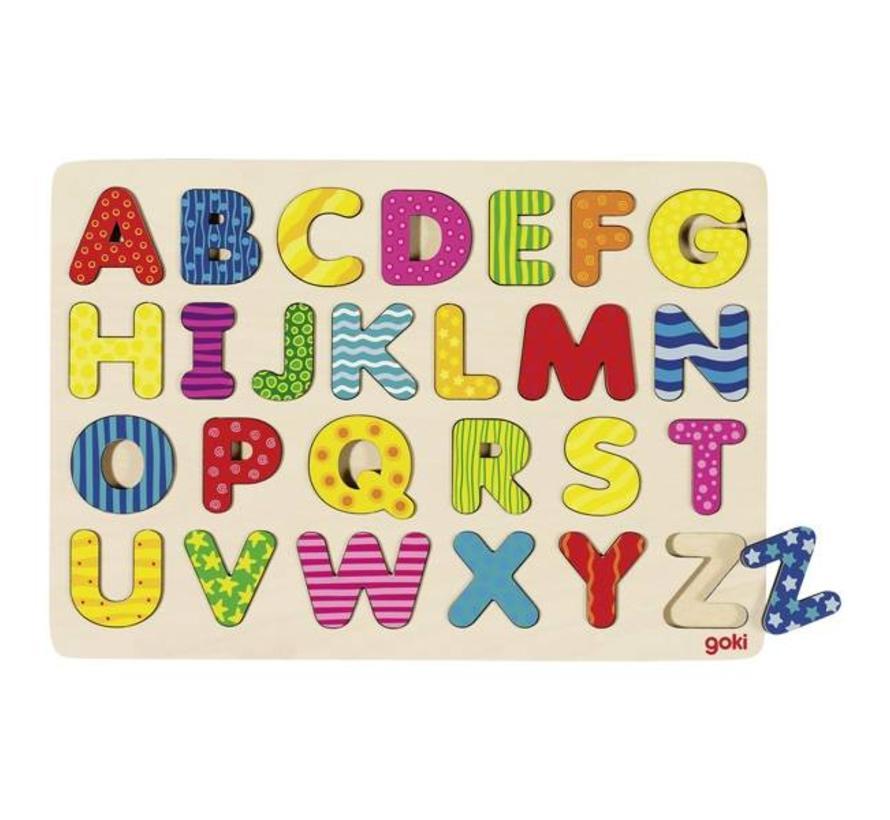 Puzzel Alfabet Hout