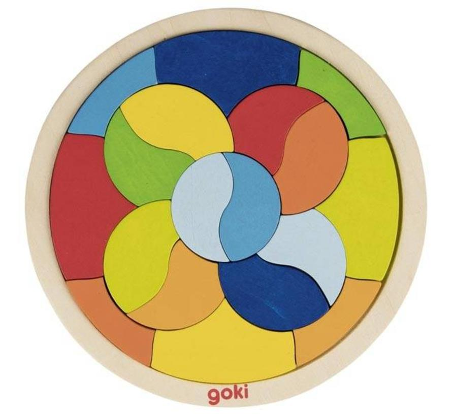 Puzzel Legspel Mandala