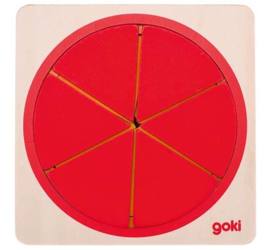 Goki Puzzel Cirkel