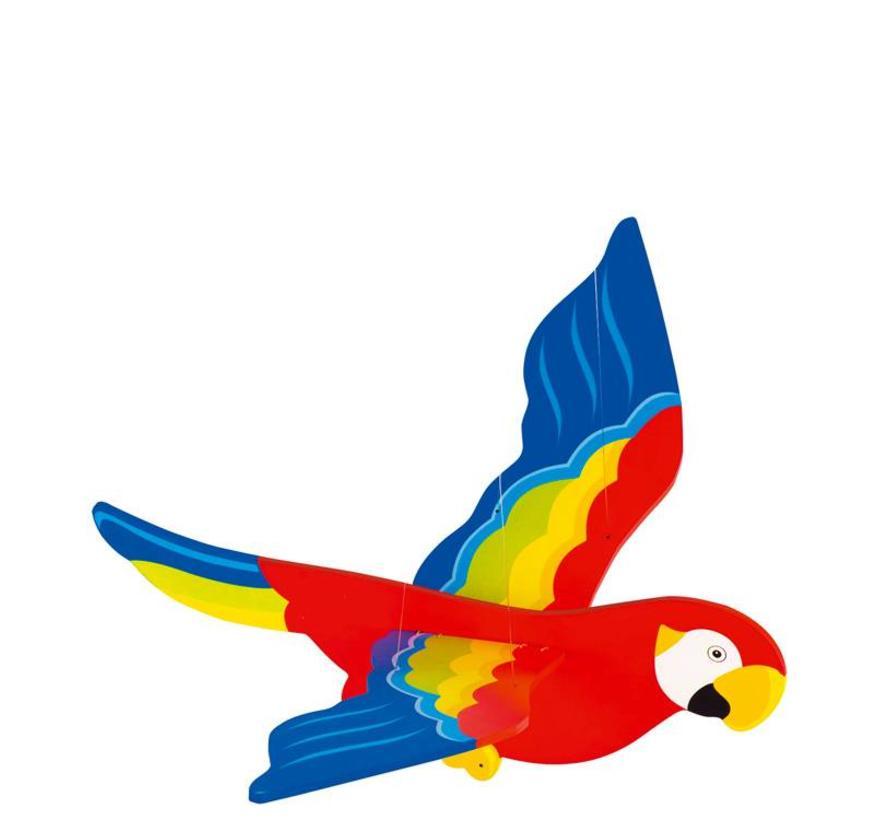 Zweeffiguur Papegaai