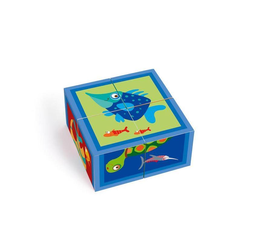 Scratch Blokkenpuzzel Zee