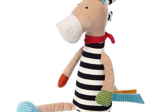 sigikid Knuffel Zebra XL Patchwork Sweety