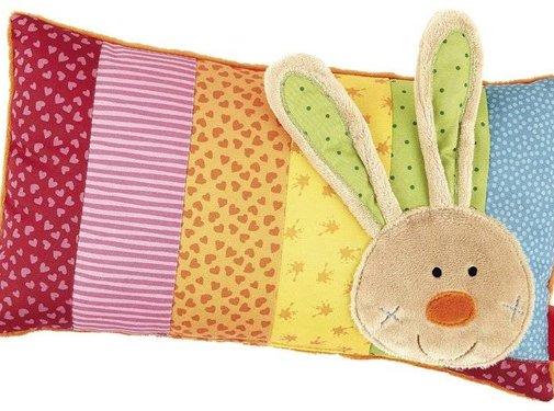 sigikid Knuffelkussen Baby Rainbow Rabbit