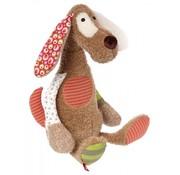 sigikid Knuffel Patchwork Sweety Hond