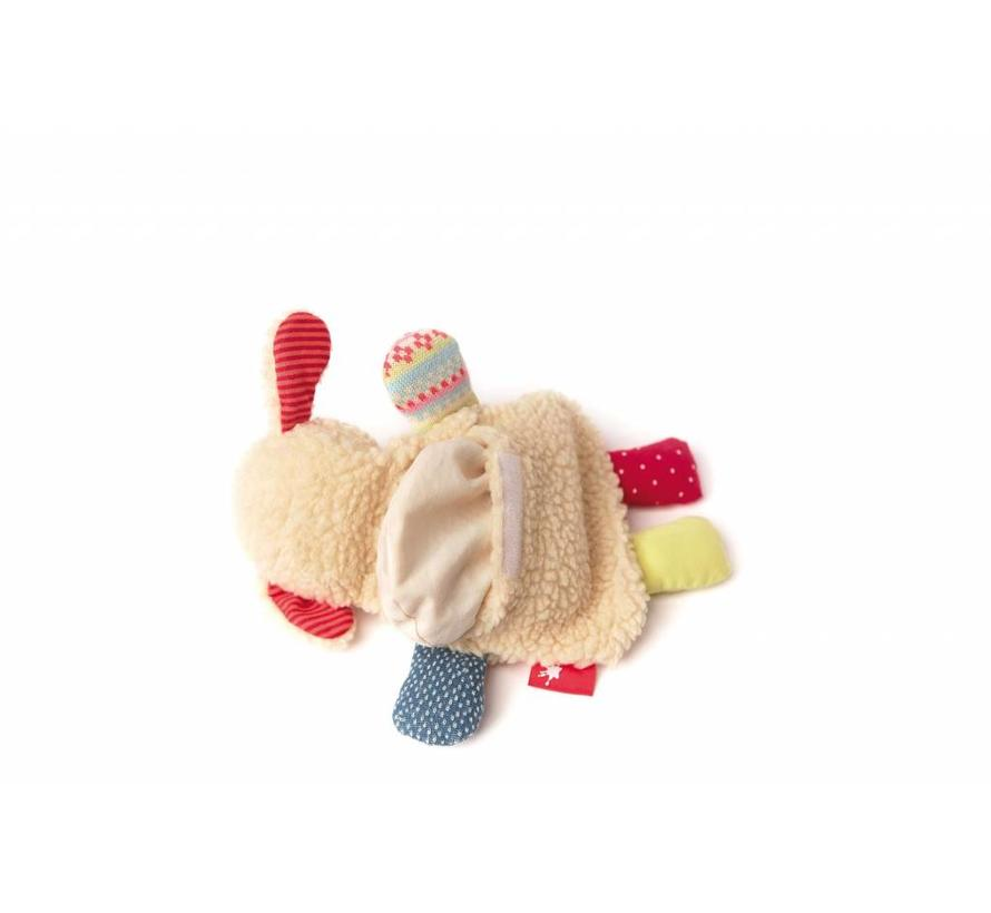 Warmteknuffel Kersenpitkussen Schaap