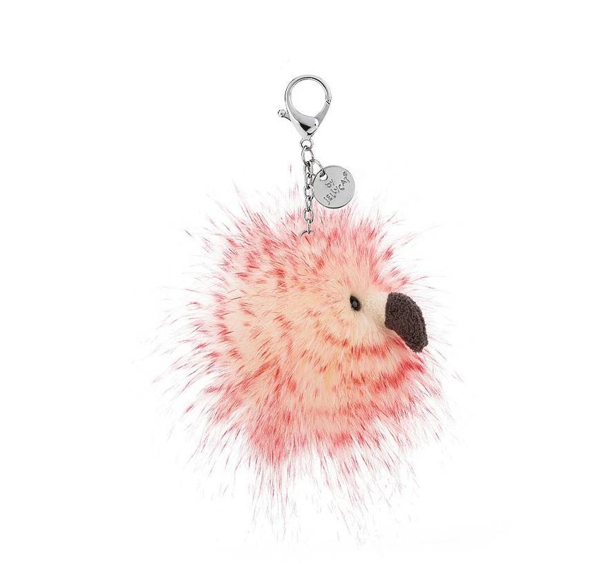Flora Flamingo Bag Charm Sleutelhanger