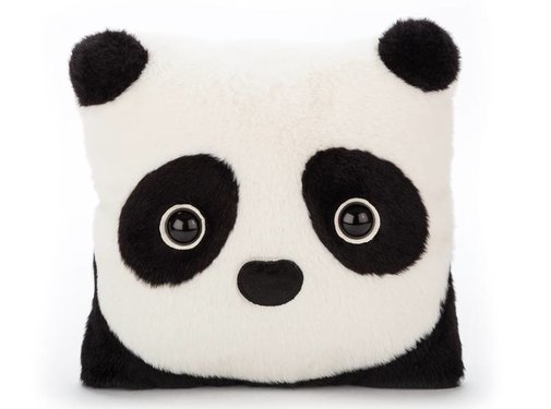 Jellycat Knuffelkussen Kutie Pops Panda