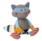 sigikid Knuffel Racoon Patchwork Sweety