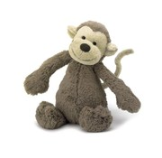 Jellycat Knuffel Aap Bashful Monkey Small