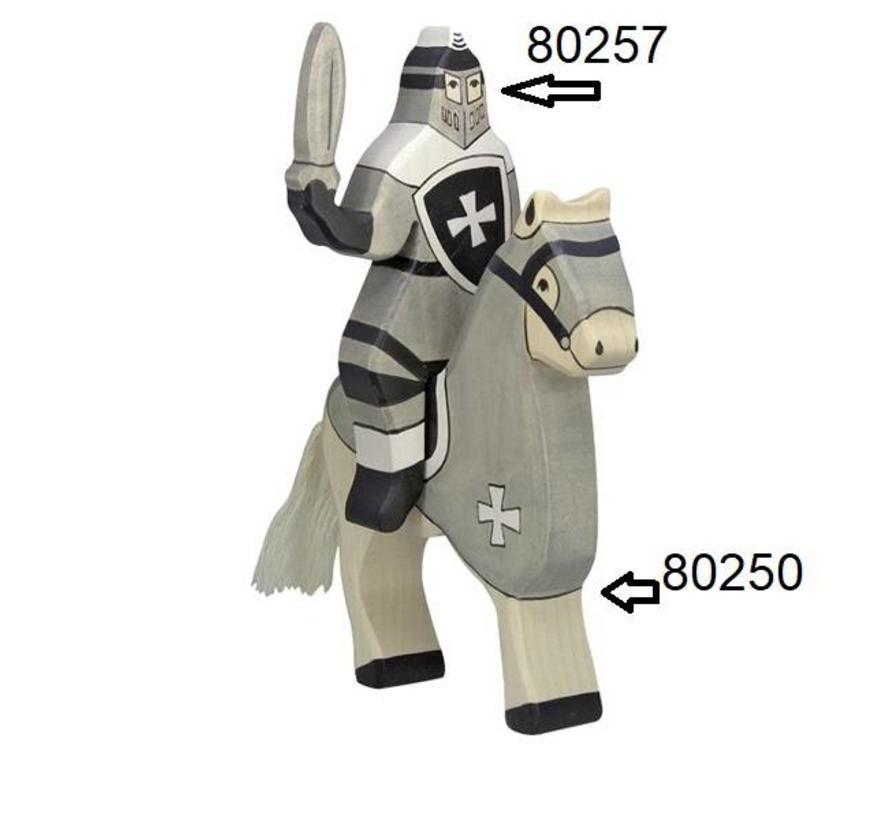 Knight Riding Black 80257