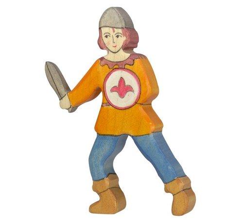 Holztiger Jongen Oranje Hemd 80243