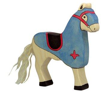 Holztiger Tournament Horse Blue 80249