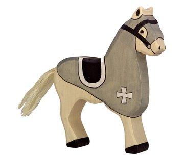 Holztiger Tournament Horse Grey 80250