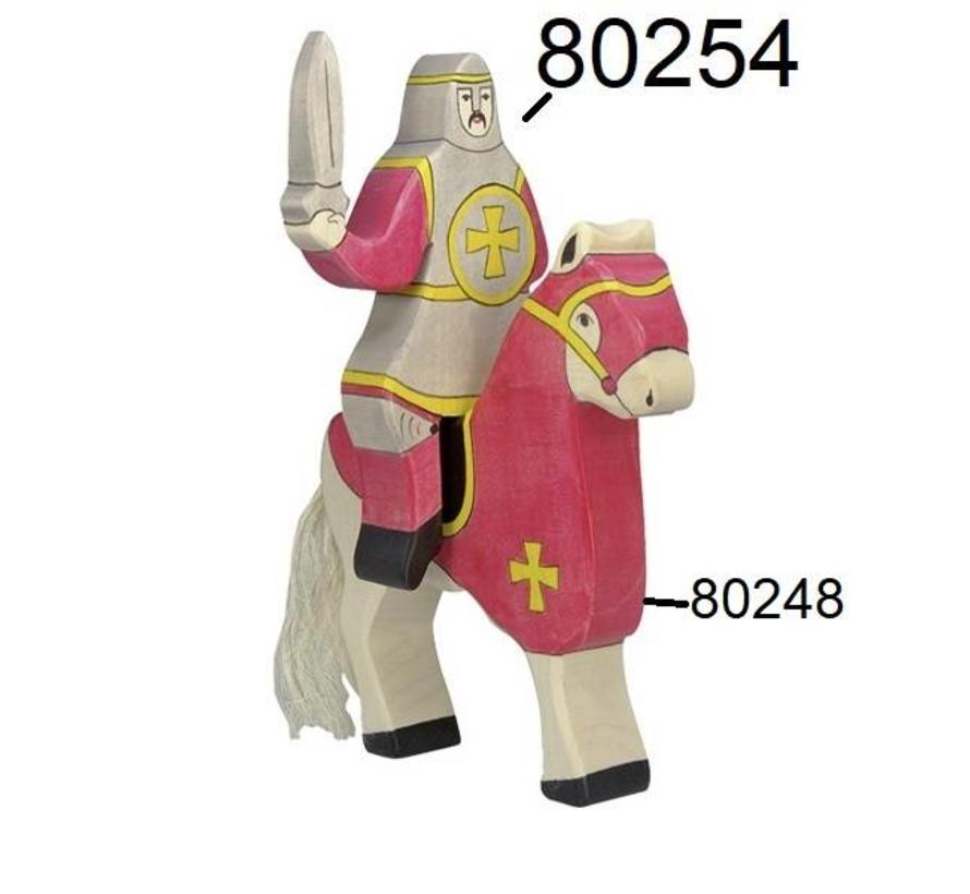 Knight Riding Red 80254