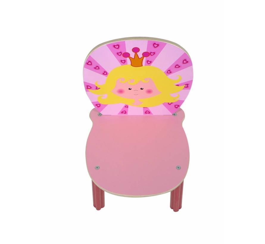 Stoel Kinderstoel Prinses Hout
